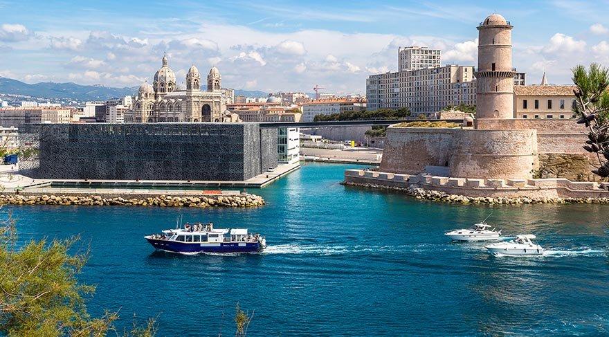 Bohem ruhuyla öne çıkan liman kenti: Marsilya