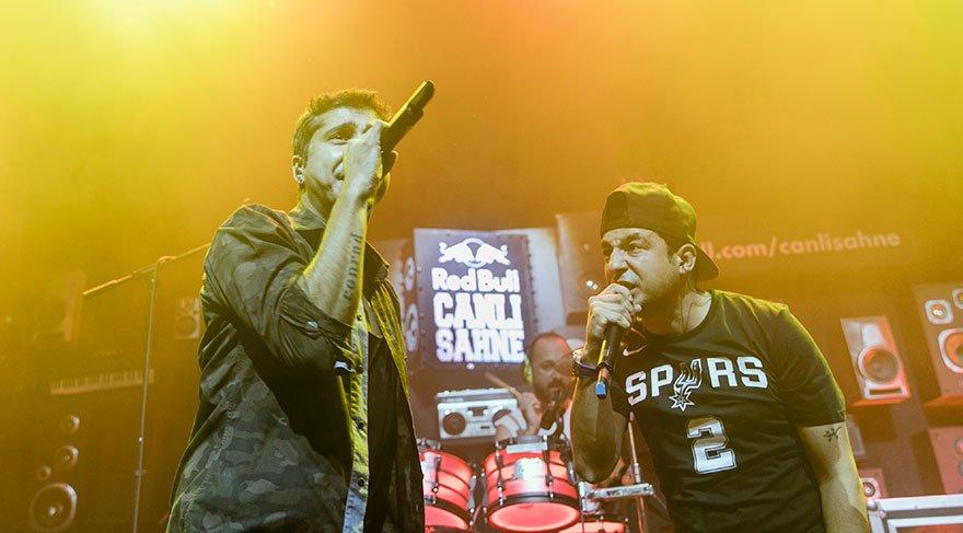 Canlı Sahne'de rap ve rock birlikteliği