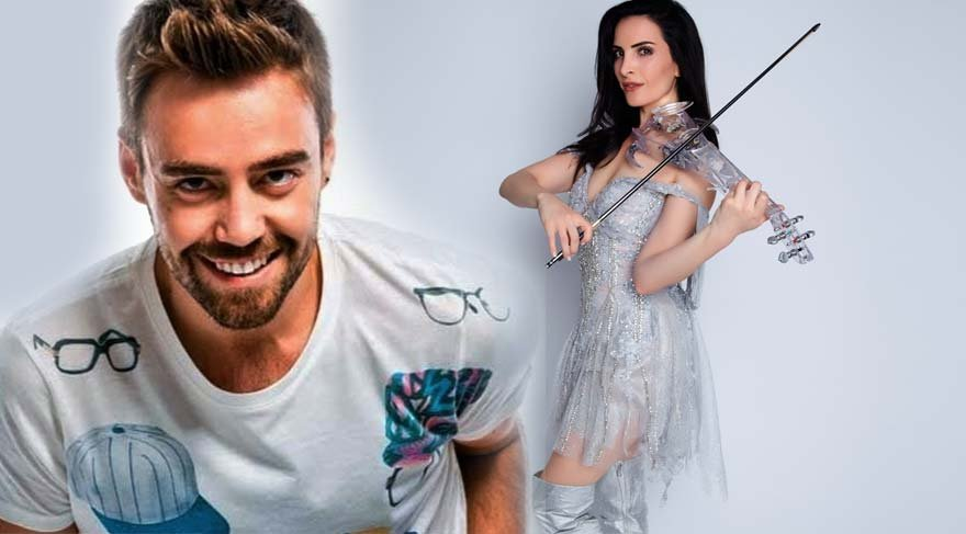 Murat Dalkılıç ve Giselle Tavilson kanserli çocuklar için sahnede