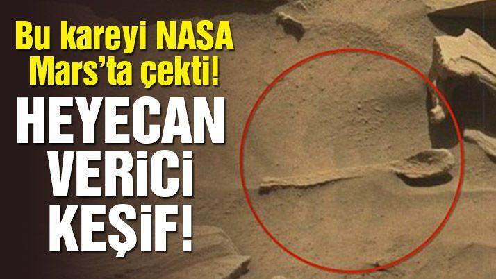 NASA paylaştı! Mars'ın kış görüntülerini yayınladı
