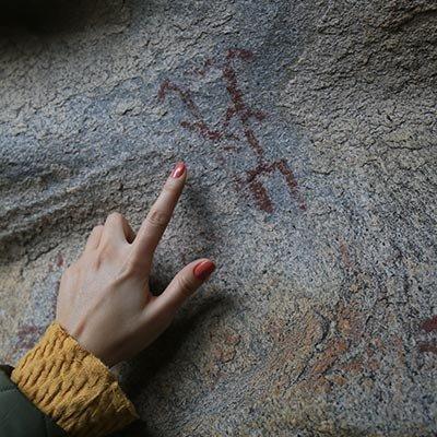 Latmos ve Milas'taki 8 bin yıllık kaya resimleri