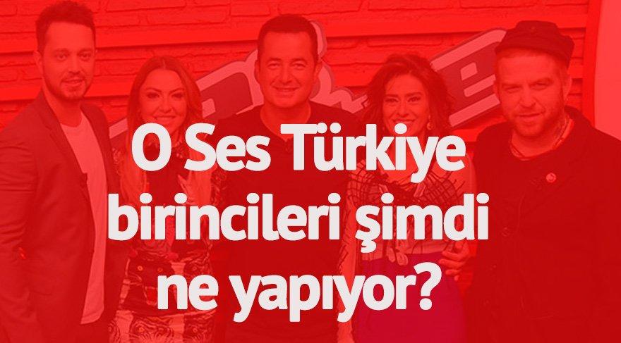 O Ses Türkiye Birincileri şimdi ne yapıyor?