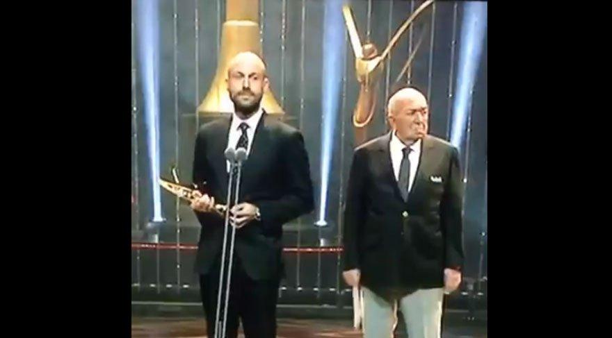 Altın Kelebek ödüllerine damga vuran konuşma!