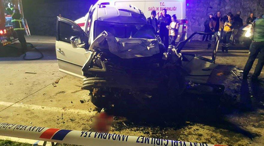 Ordu'da feci kaza: 4 ölü, 2 yaralı