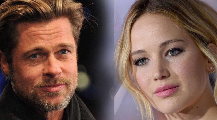 Brad Pitt ile Jennifer Lawrence aşk mı yaşıyor?