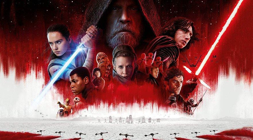 Son Jedi, ilk gün hasılatında da ikinci