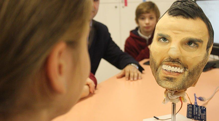 Ortaokul öğrencileri yaptı: Robotan