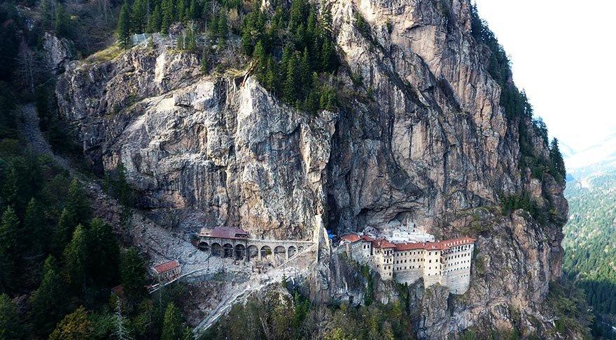 Sümela Manastırı restorasyonunda keşfedildi, gün yüzüne çıkarılıyor
