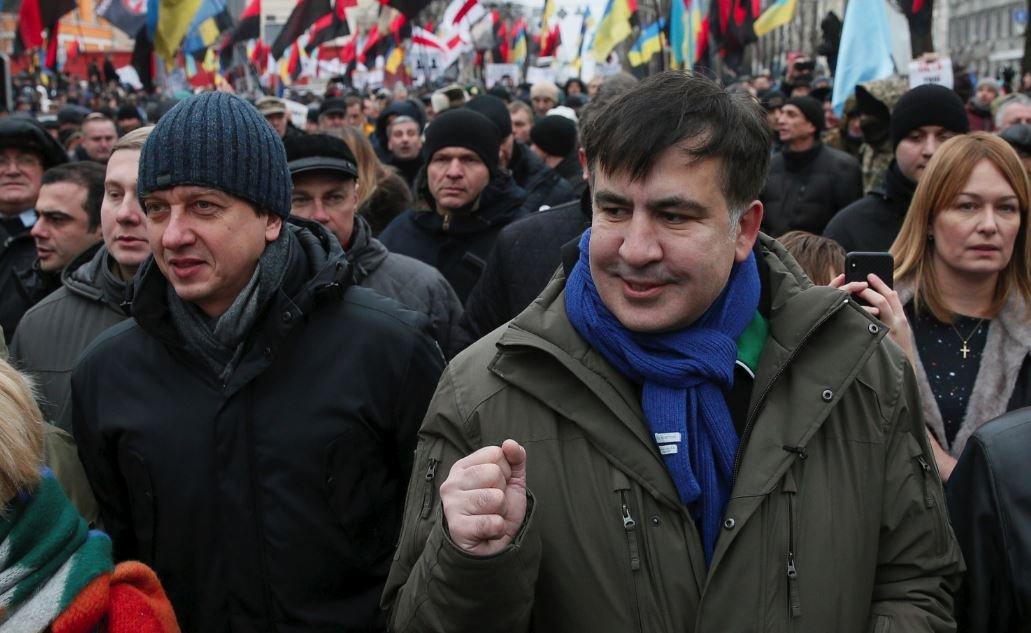 Kiev'de Saakaşvili meydan muharebesi