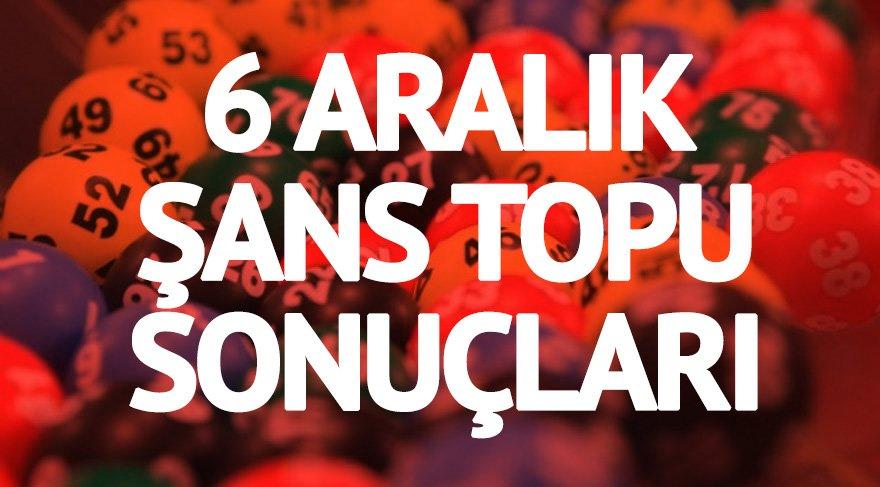 Şans Topu sonuçları: 2 milyon lirayı aştı! İşte 6 Aralık MPİ Şans Topu kazandıran rakamlar