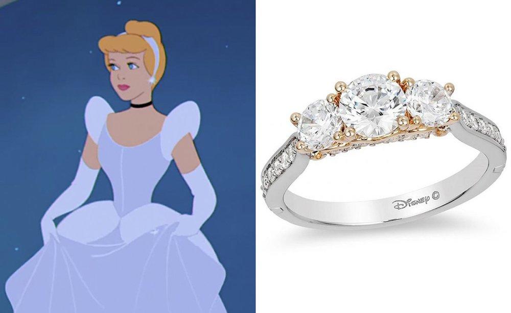 Sindrella yüzüğü de 3,891,30 dolar fiyatıyla pahalı parçalar arasında yer alıyor.