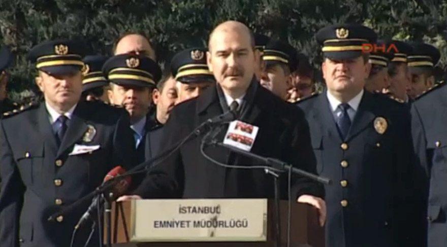 İçişleri Bakanı Soylu: Polis ayağını kırsın suçu bana atsın
