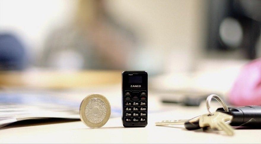 İşte dünyanın en küçük cep telefonu…