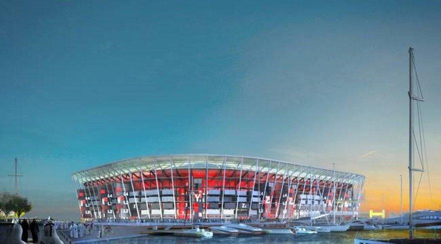 Demonte edilip başka yere kurulabilen stadyum projesi