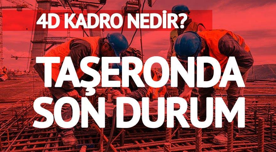 4D nedir? Belediyede çalışan taşeron işçiler 4D kadro istiyor!