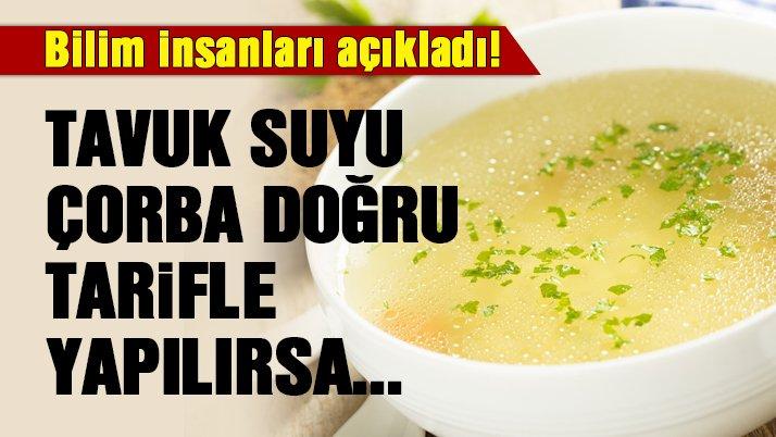 Tavuk suyu çorbası hastalıktan korur mu?