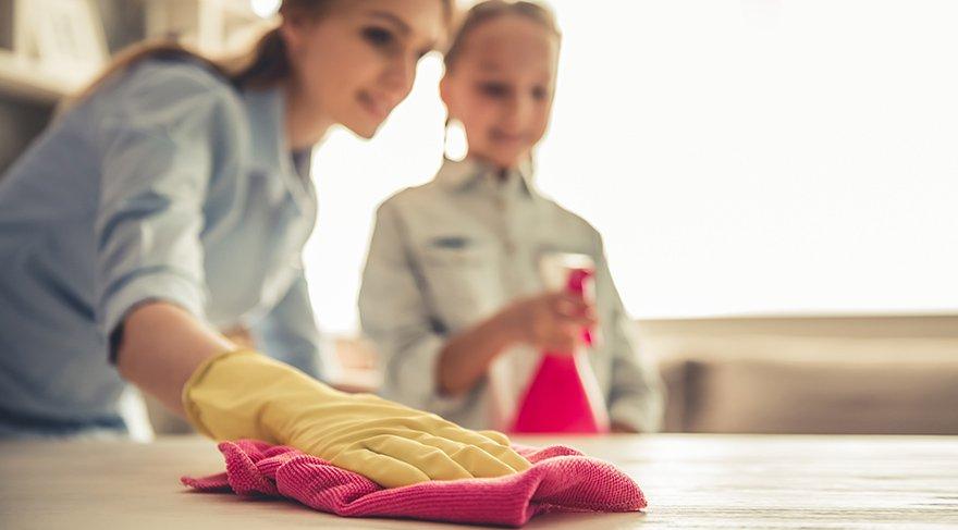 Yanlış seçilen temizlik malzemesine dikkat!