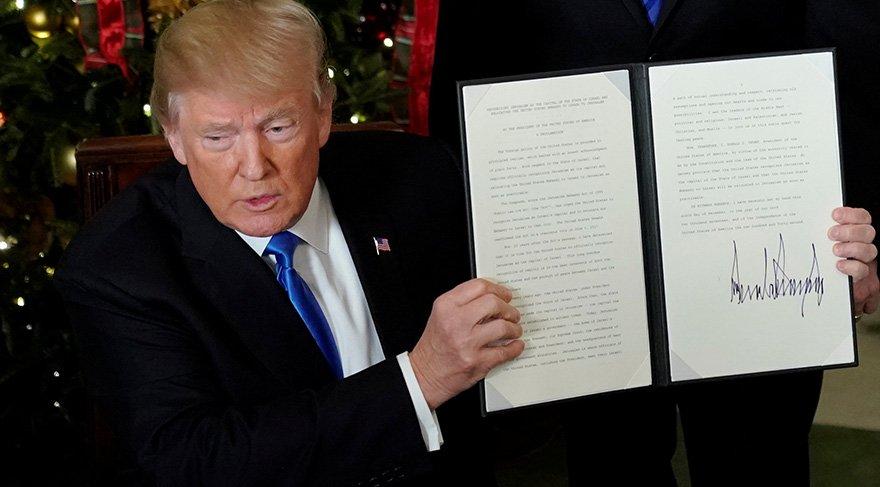 Trump, Filistin'e ettiği tehdidi gerçeğe dönüştürdü