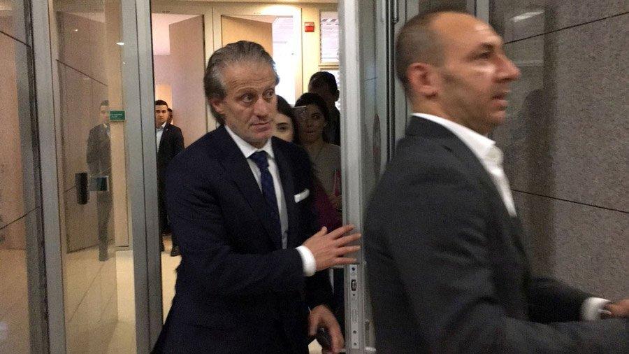 FOTO:İHA - Tugay Kerimoğlu adliyeden ayrılırken açıklama yapmadı.