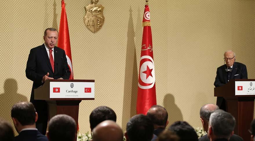 Erdoğan açıkladı: Tunus'tan zeytinyağı ithal edeceğiz
