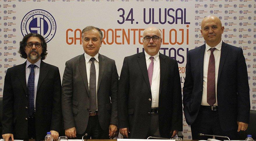 34. Ulusal Gastroenteroloji Kongresi, Antalya'da gerçekleştirildi.