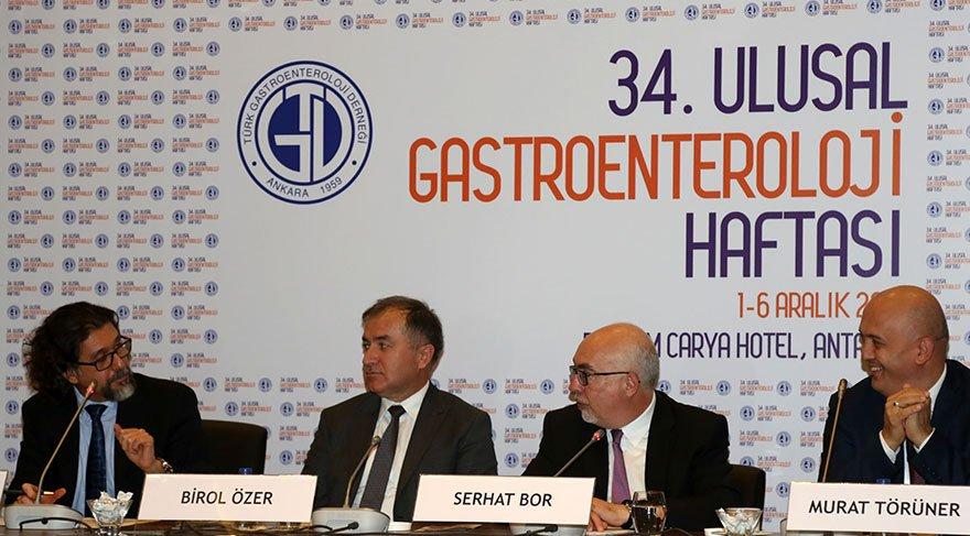 34'üncü Ulusal Gastroenteroloji Kongresi, Antalya'da başladı.