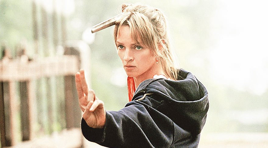 Uma Thurman Shaolin Kung Fu