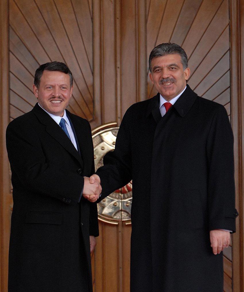 FOTO: DepoPhotos / Cumhurbaşkanı Abdullah Gül, Ürdün Kralı Abdullah ile Çankaya Köşkü'nde biraraya gelmişti.