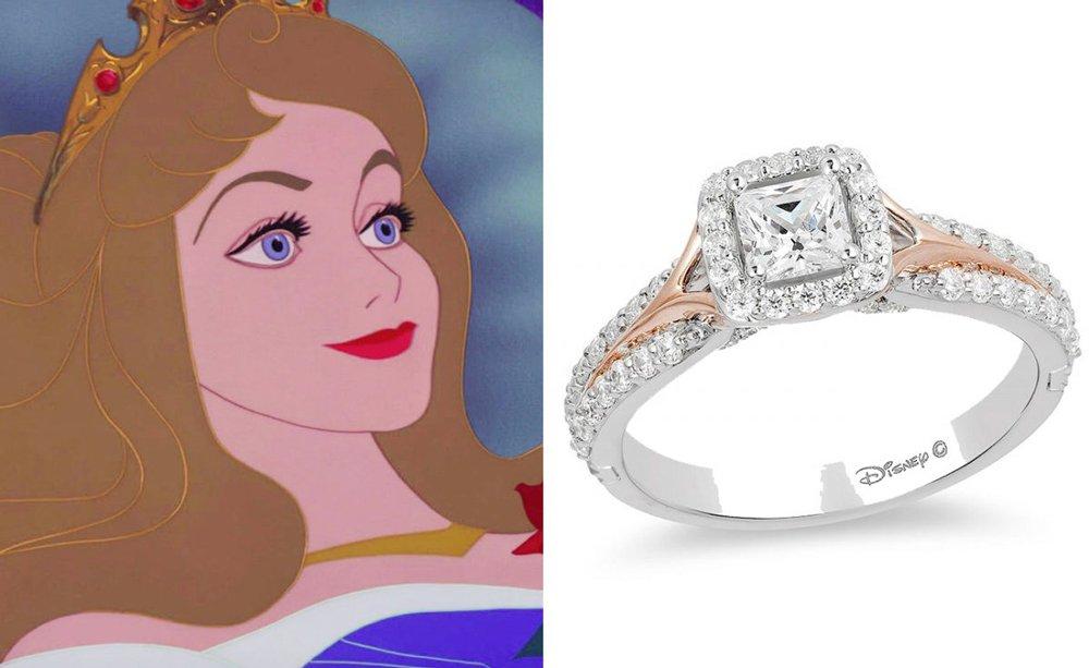 Uyuyan Güzel yüzüğü 1.945,30 dolar.