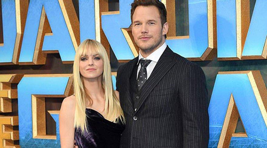 Anna Faris ile Chris Pratt boşanıyor!