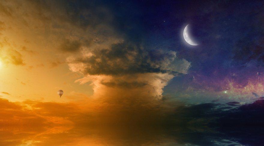 Yay burcunda Satürnyen Yeni Ay