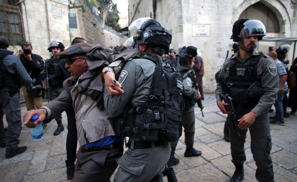 Son dakika... İsrail 'hayır'ın intikamını Kudüs'te halktan alıyor
