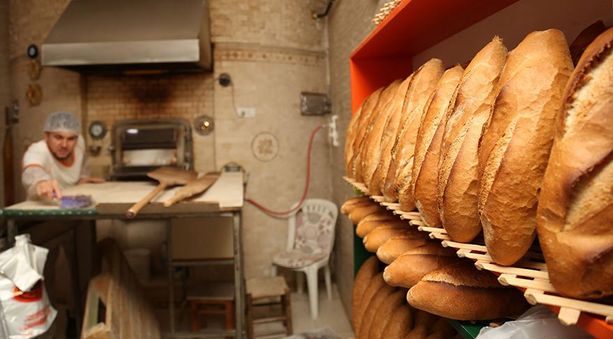 Ekmekten 50 gram çaldılar