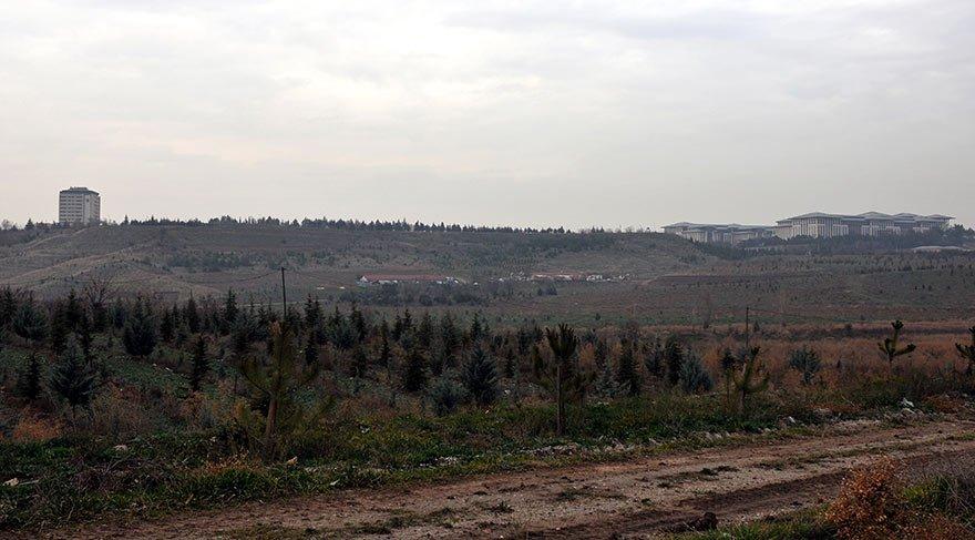 AOÇ arazisinin yarısı amaç dışı kullanım için imara açıldı.