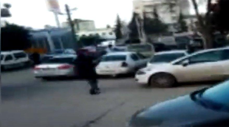 Sokak ortasında silah sıktılar adliyede serbest kaldılar
