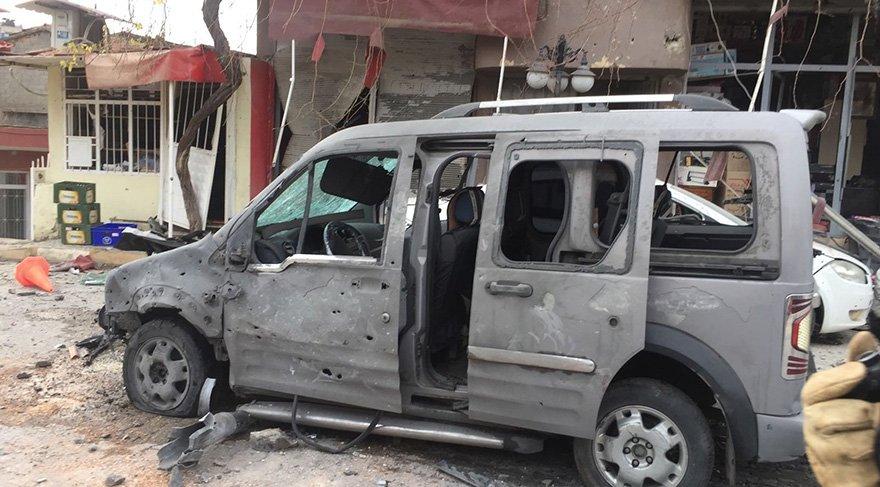 Son dakika: Afrin'den Reyhanlı'ya roketli saldırı