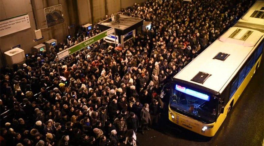 Metrobüs rekor kırdı
