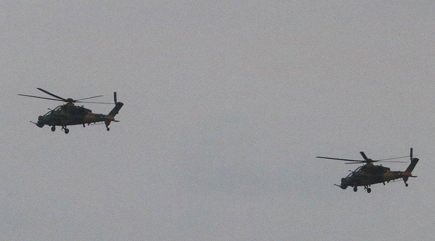 Zeytin Dalı Harekatı'na katılan helikopterler Türkiye'ye döndü