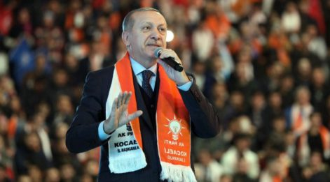 Cumhurbaşkanı Erdoğan'a,