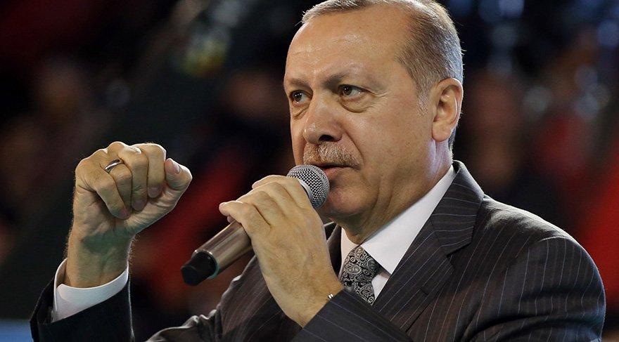 Erdoğan: Mehmetimiz Afri'ne doğru yürüyor.