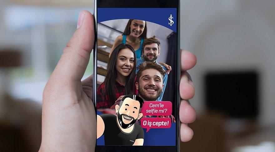 İşCep'e özel Snapchat filtresi