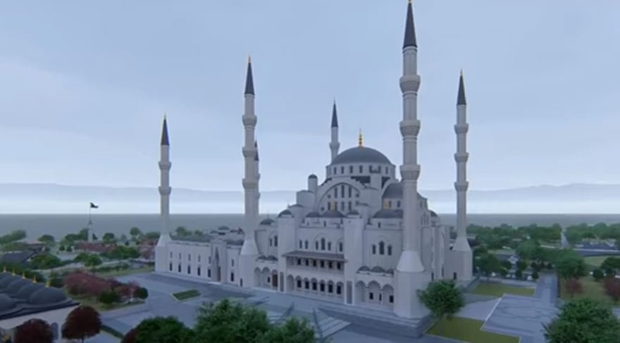 Eski bakan Erdoğan Bayraktar 30 milyon liraya cami yaptırıyor