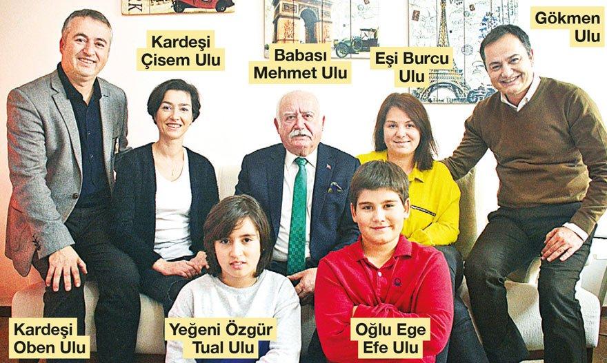 İzmir muhabirimiz Gökmen Ulu, tahliye olduktan sonra ailesiyle hasret giderdi.
