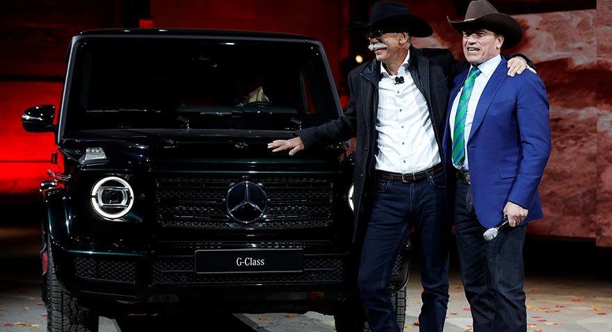 Detroit'in yıldızı: Mercedes yeni G serisi