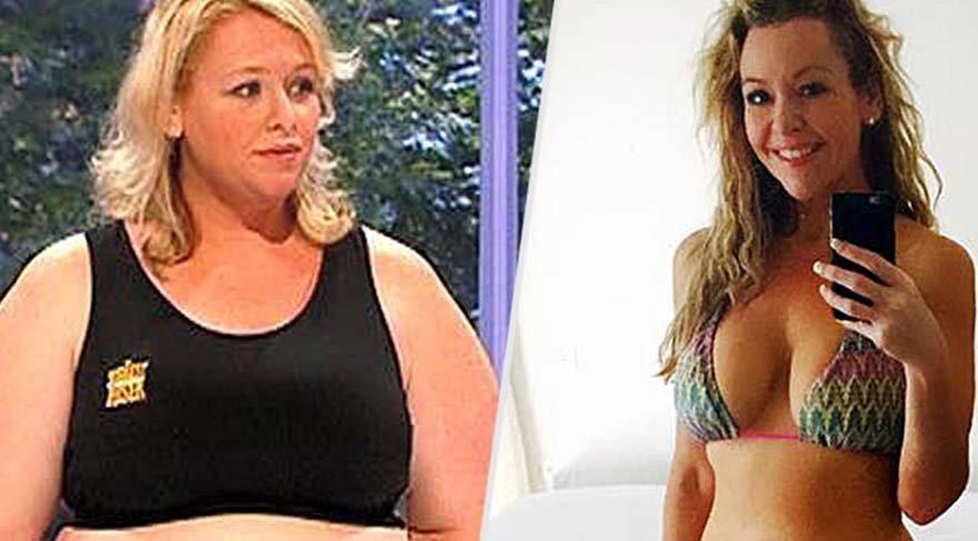Yarışmaya katıldı elendi 67 kilo verdi bikinisiyle herkesi büyüledi