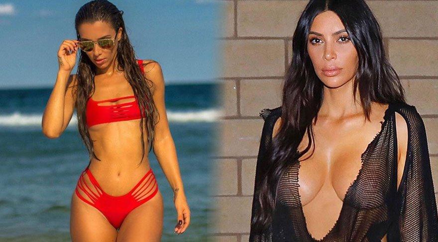 Amerika'da Kim Kardashian'a rakip olarak gösterilen Metisha Schaefer, Türk çıktı!