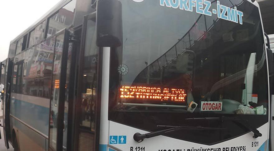 Otobüsü çalındı, ticari taksiyle kovaladı