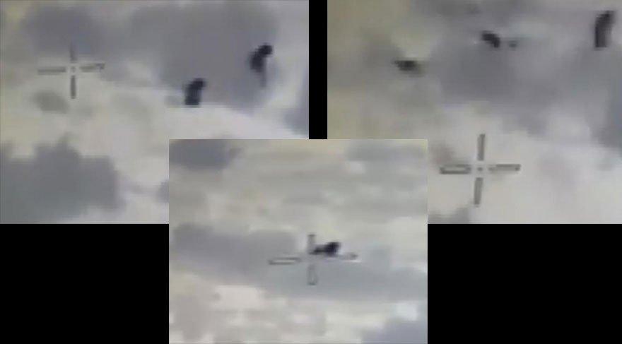 TSK teröristleri böyle vurdu | Afrin'den son dakika haberleri