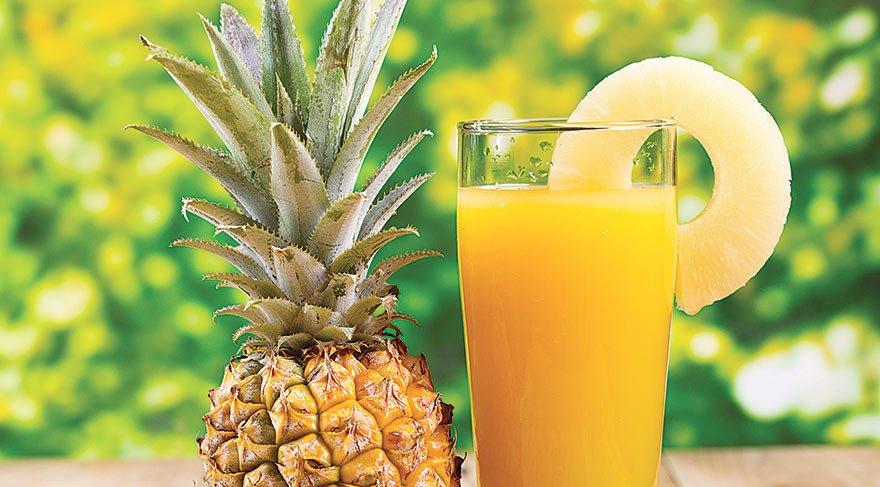 Ananas suyunun 6 faydası