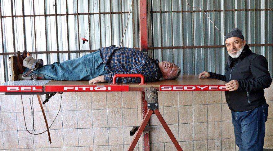 Antalya'da rot balans ustası, fıtığı tedavi ettiğini iddia ediyor